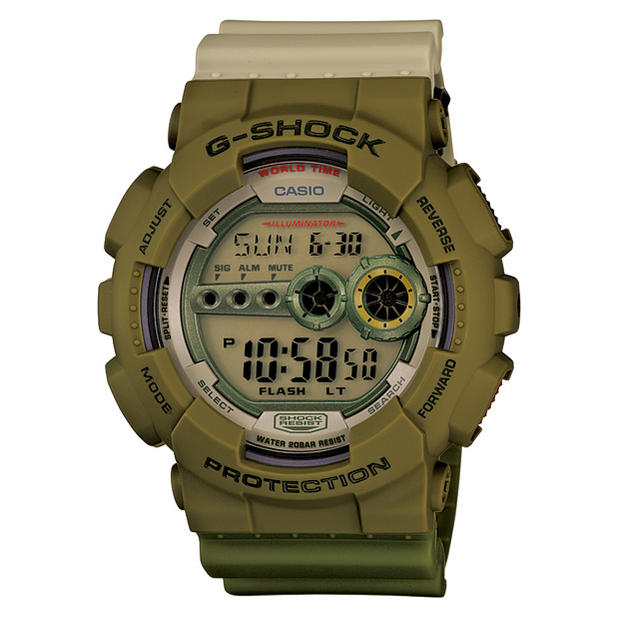 G-Shock GD-100PS-3JR playset