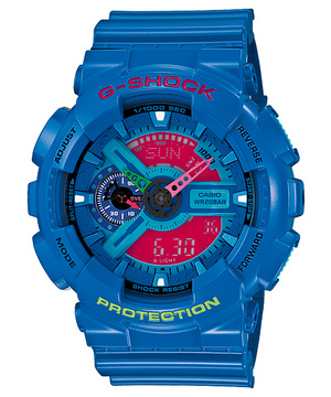 G-Shock GA-110HC-2AJF hyper-colour