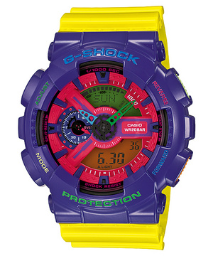 G-Shock GA-110HC-6AJF hyper-colour