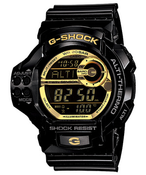 G-Shock GDF-100GB-1JF Black x Gold
