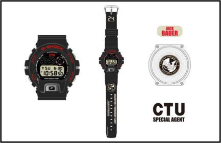 For Sale G-Shock × 24 (Jack Bauer, CTU) DW-6900 New with