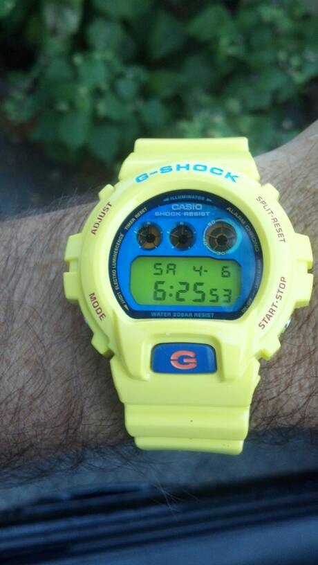 What did you get in April? | G-Shockzone